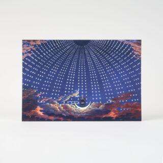 Set of 6 Celestial Cards
