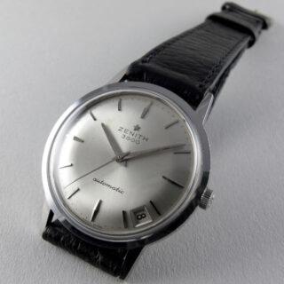 Zenith 3600 Ref. 230A steel vintage wristwatch, circa 1965
