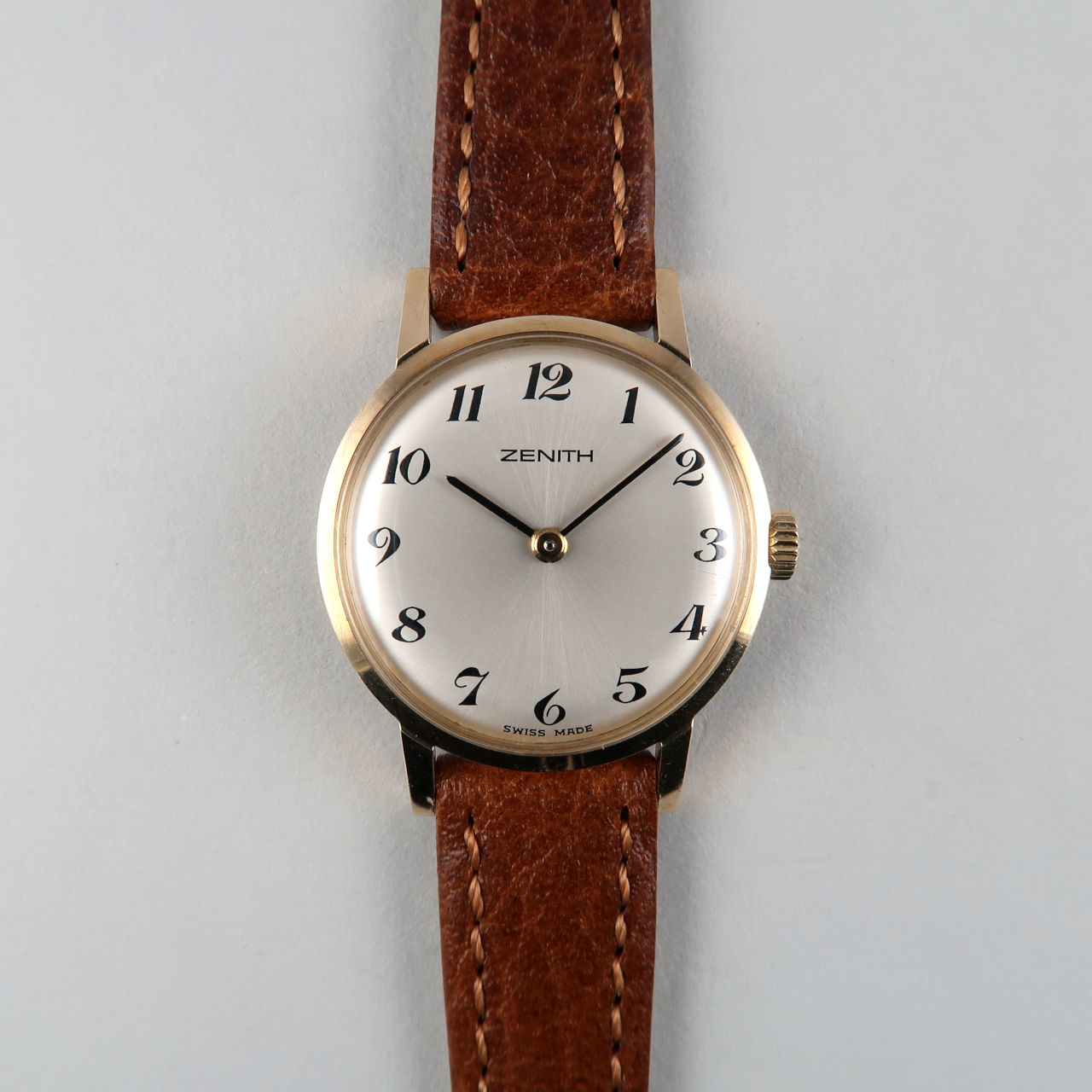 Zenith Cal. 1120 hallmarked 1973 | 9ct gold lady's hand wound vintage wristwatch