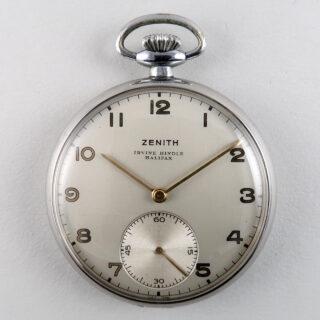 Zenith retailed by Irvine Hindle, Halifax circa 1950