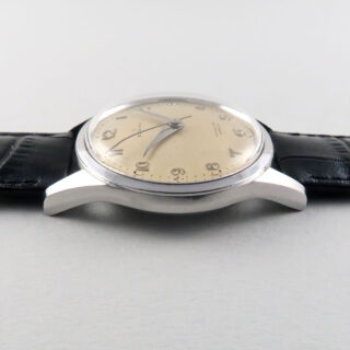 Zenith Ref. 2/3121 retailed by W. R. Bullen of Norwich steel vintage wristwatch, made in 1958